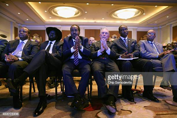 Swaziland King Mswati III South Sudan President Salva Kiir Mayardit Djbouti President Ismail Omar Guelleh Former New York City Mayor Michael...