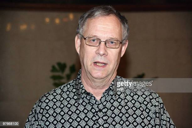 Swede Lars Lagerback pictured on February 27 2020 in Abuja has been named as Nigeria's coach on a fivemonth contract through until the World Cup in...