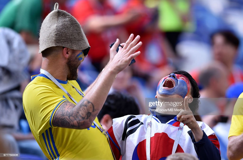 Sweden v Korea Republic: Group F - 2018 FIFA World Cup Russia : ニュース写真