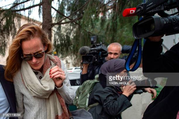 Sweden citizen Emma Hedvig Christina Winberg the wife of British army officer James Le Mesurier who helped found the White Helmets volunteer...