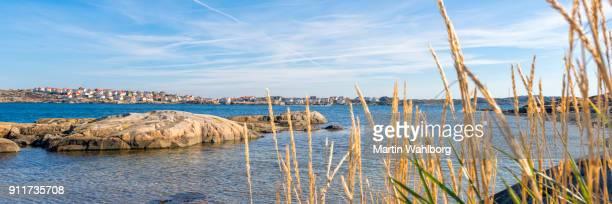 Sweden coastline panorama