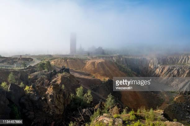 sweden, falun, falun copper mine, unesco world heritage site - ファールン ストックフォトと画像