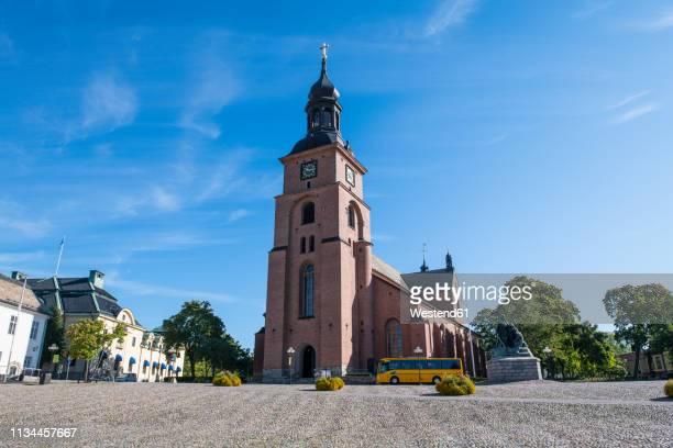 sweden, falun, kristine church - ファールン ストックフォトと画像