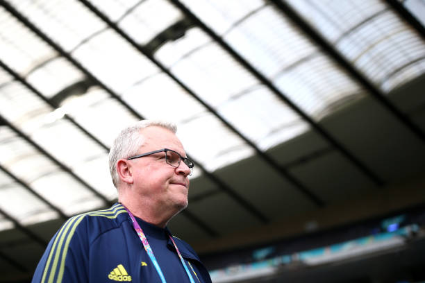 GBR: Sweden Training Session and Press Conference - UEFA Euro 2020: Round of 16