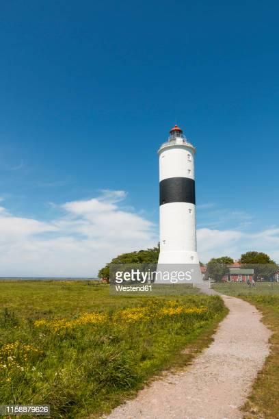 sweden, oeland, degerhamn, lighthouse lange jan - エーランド ストックフォトと画像
