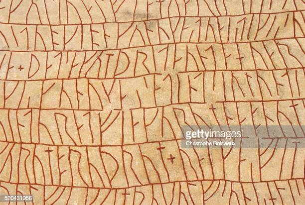 Sweden, Ostergotland, Rune stone of Rok (9th C)
