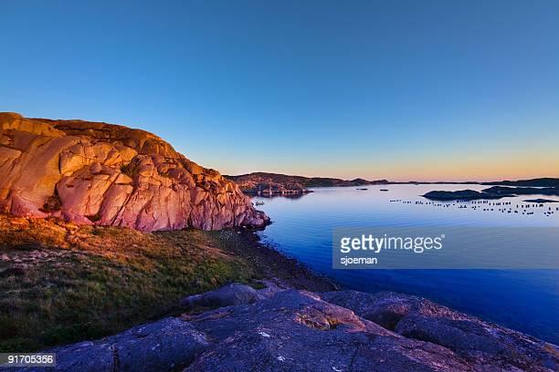a suécia rocks - arquipélago - fotografias e filmes do acervo