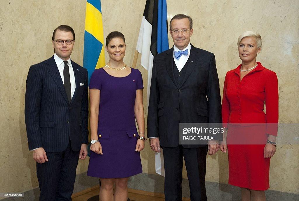 ESTONIA-SWEDEN-ROYALS-DIPLOMACY : News Photo