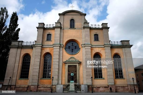 Sweden Stockholm Gamla Stan Cathedral of Stockholm