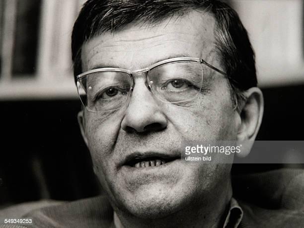 Sweden Stockholm poet Peter Weiss portrait