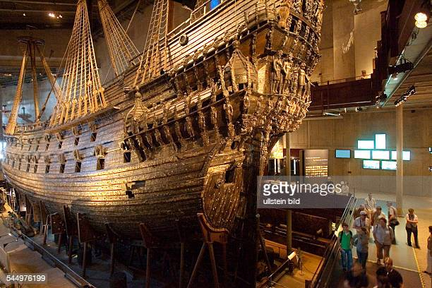 "Sweden - Stockholm: ""Vasa Museum"" with an exhibition around the swedish warship ""VASA"" which sank into her maiden voyage in 1628"