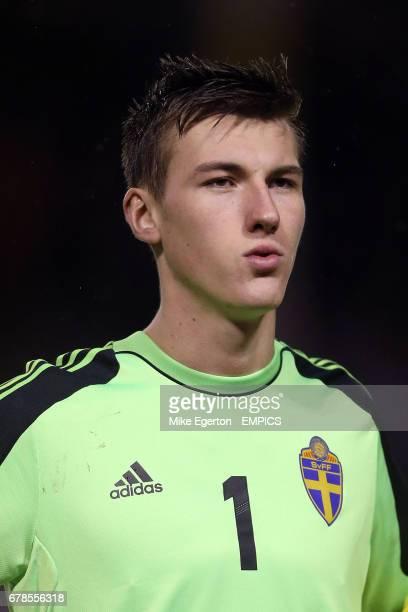 Sweden U21s goalkeeper Andreas Linde