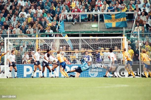 Sweden v England European Championship Match Group Stage Group 1 R undastadion Solna Sweden 17th June 1992 Final score Sweden 21 England