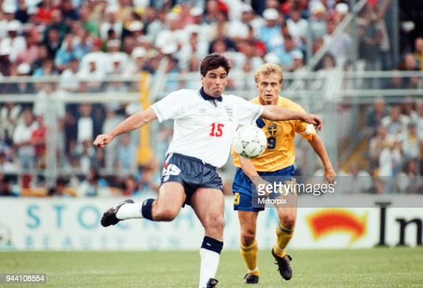 Sweden v England European Championship Match Group Stage Group 1 R undastadion Solna Sweden 17th June 1992 Neil Webb Final score Sweden 21 England