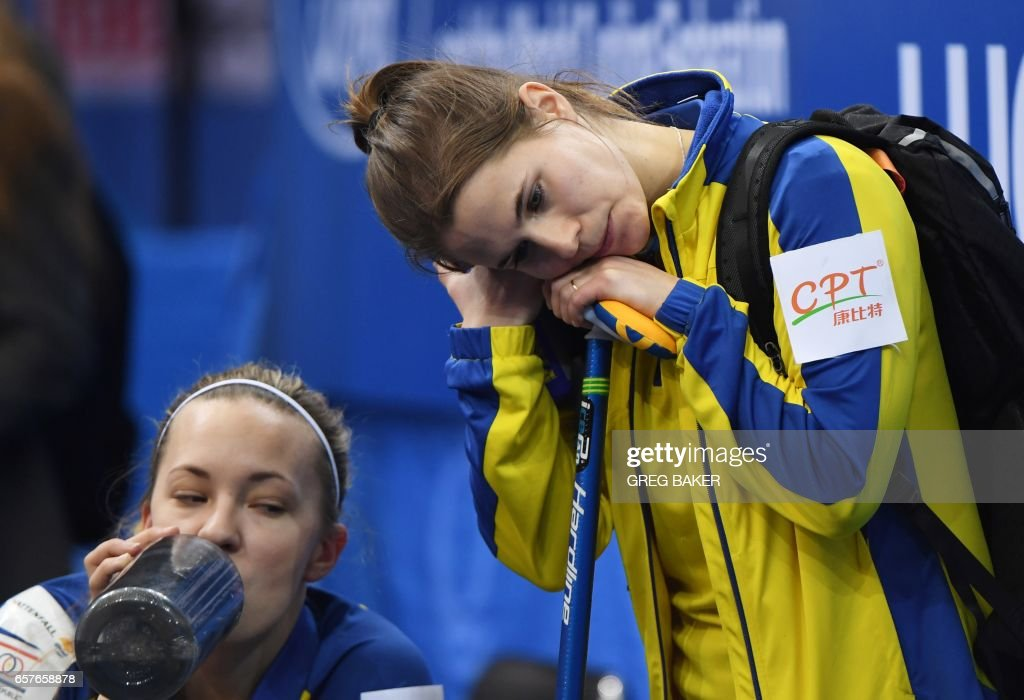 CURLING-CHN-WORLD-RUS-SWE : News Photo