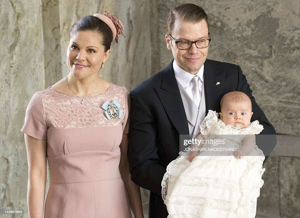 Sweden's Crown Princess Victoria (L) and : News Photo