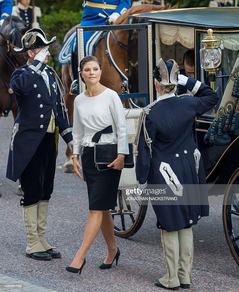 SWEDEN-POLITICS-PARLIAMENT : News Photo