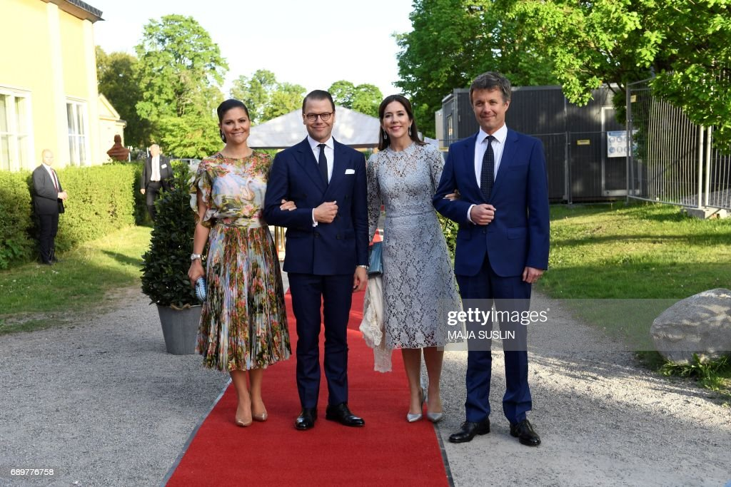 SWEDEN-DENAMRK-ROYALS : News Photo