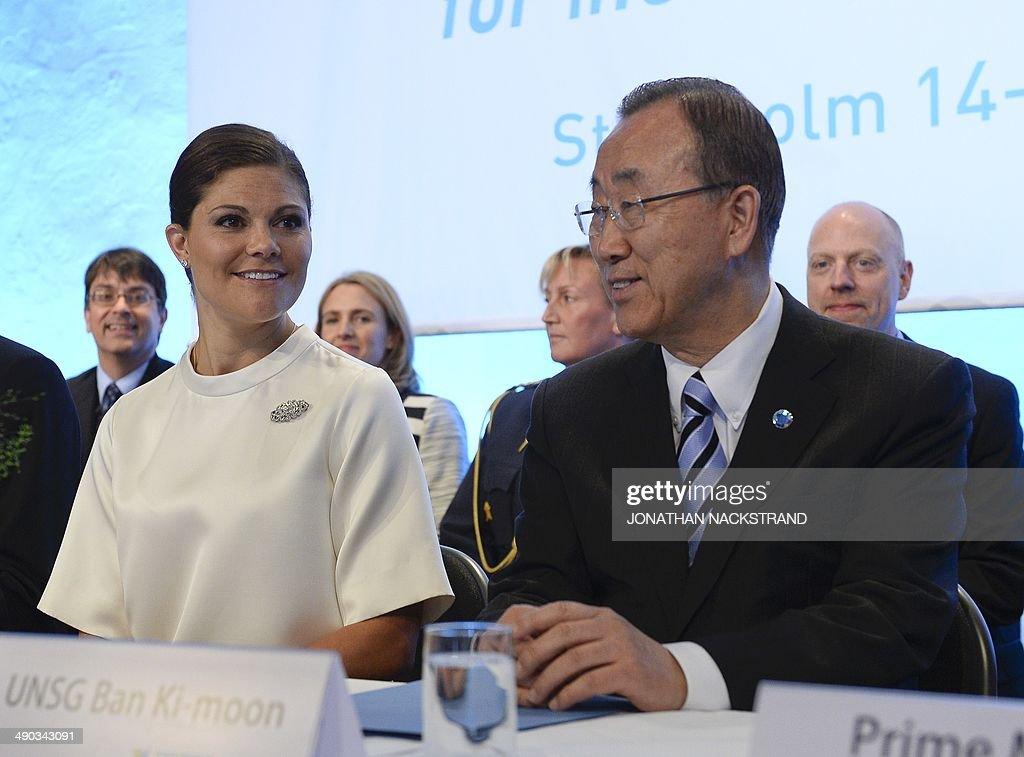 SWEDEN-UN-GFMD-GLOBAL-FORUM-MIGRATION-DEVELOPMENT : News Photo