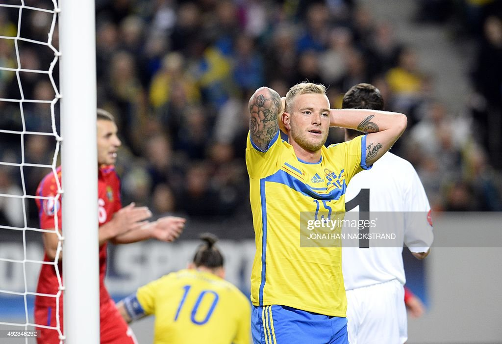 FBL-EURO-2016-SWE-MDA : News Photo