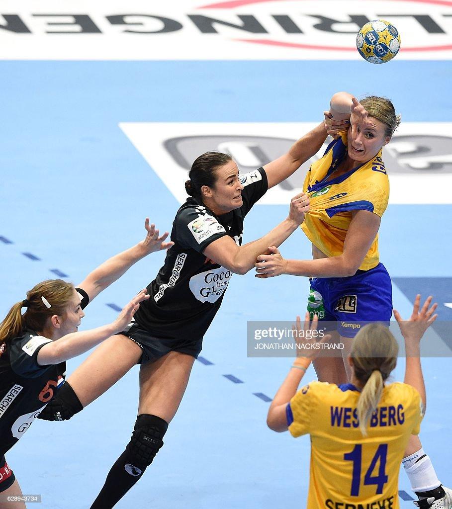 A2 v B3: Group I - Women's European Handball Championships - Sweden