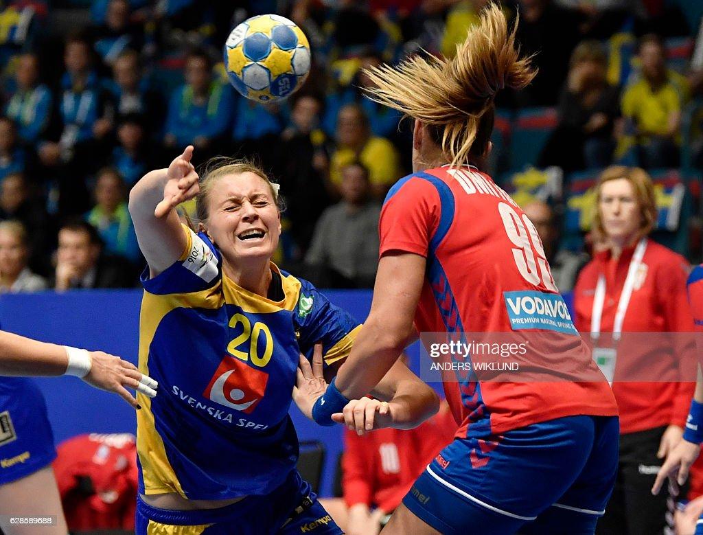 Sweden v Serbia - Women's European Handball Championships - Sweden