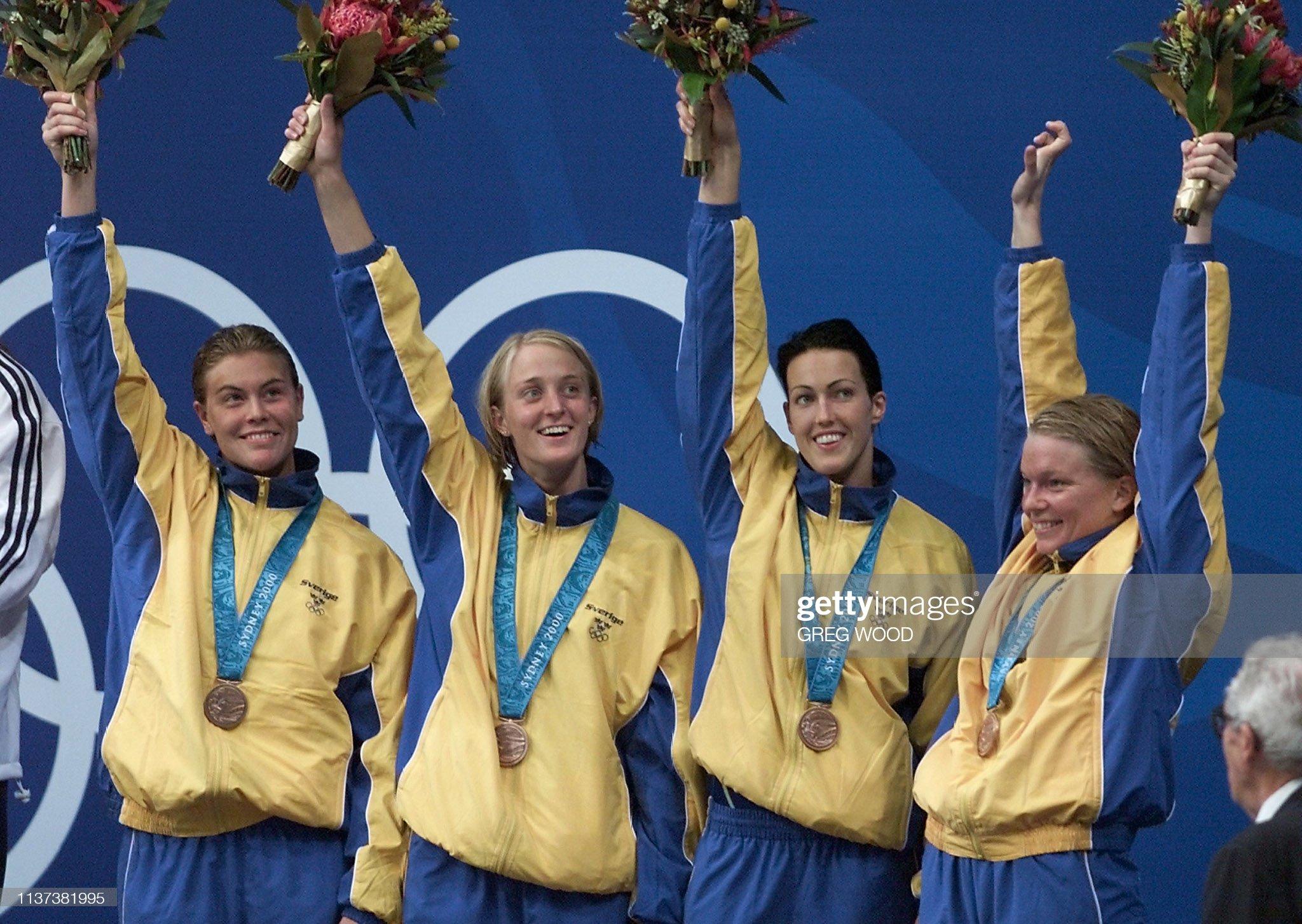 OLY2000-SWM-USA-GOLD : Fotografía de noticias