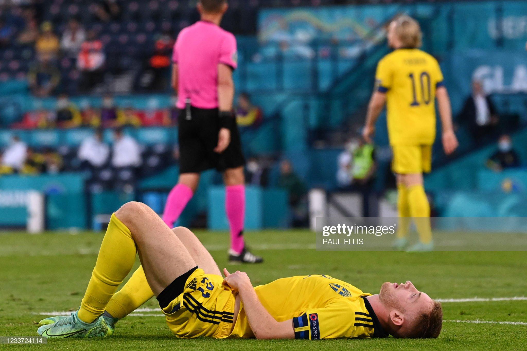 FBL-EURO-2020-2021-MATCH43-SWE-UKR : News Photo