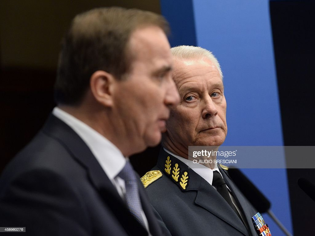 SWEDEN-MILITARY-SUBMARINE-RUSSIA : News Photo