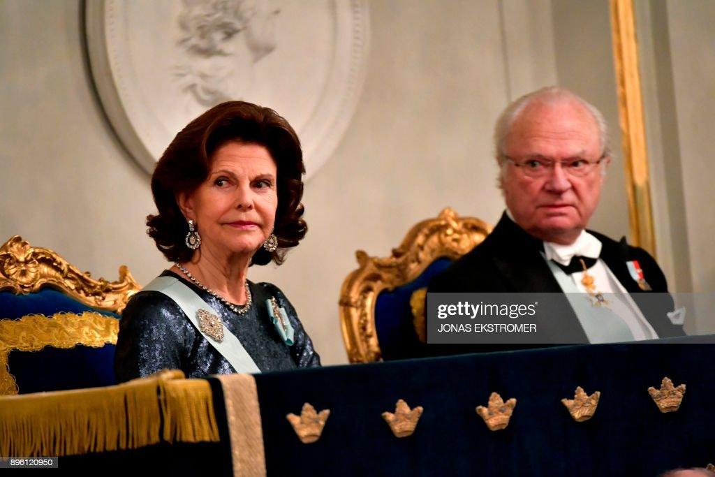 SWEDEN-SWEDISH-ACADEMY-ROYALS : News Photo