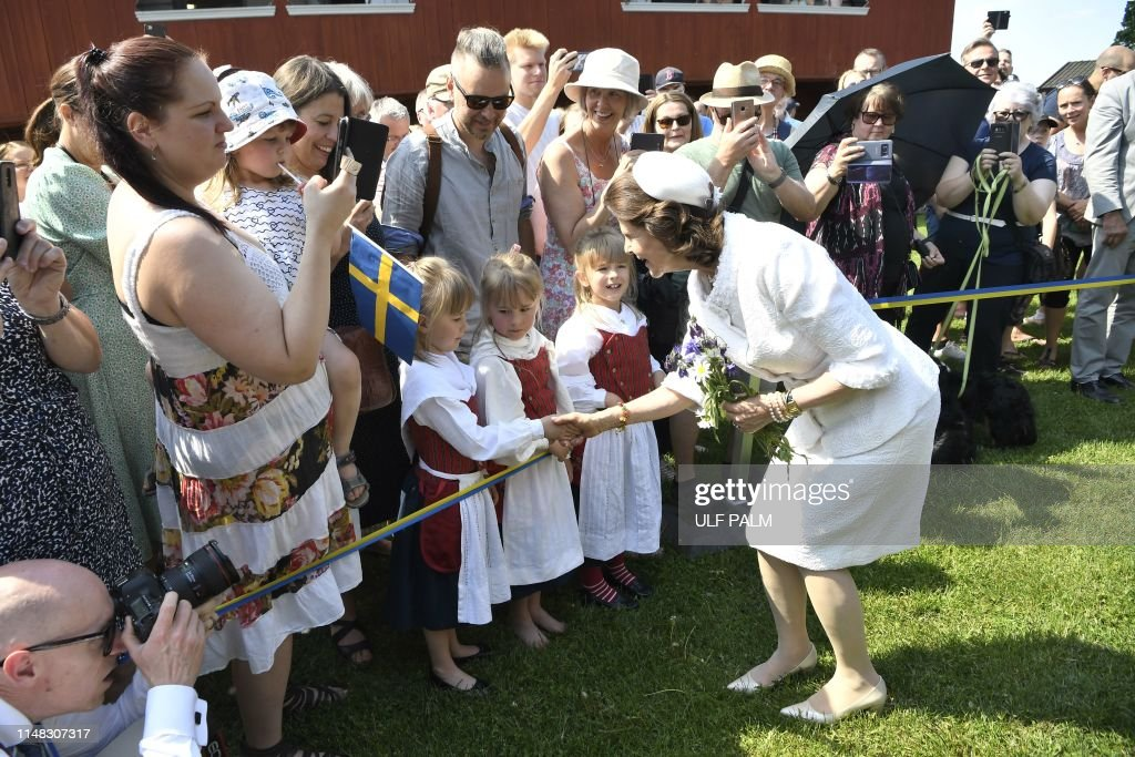 SWEDEN-NATIONAL-DAY-CELEBRATIONS-ROYALS : News Photo