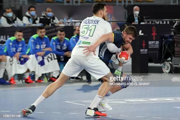 EGY: Slovenia v Sweden - IHF Men's World Championships Handball 2021