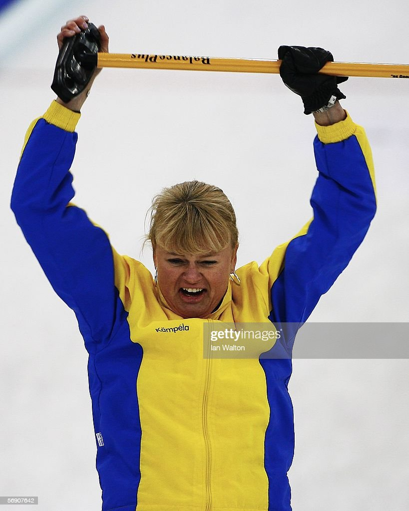 Anette Norberg swedens skiper anette norberg celebrates after winning the