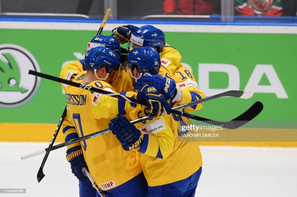 SVK: Sweden v Russia: Group B - 2019 IIHF Ice Hockey World Championship Slovakia