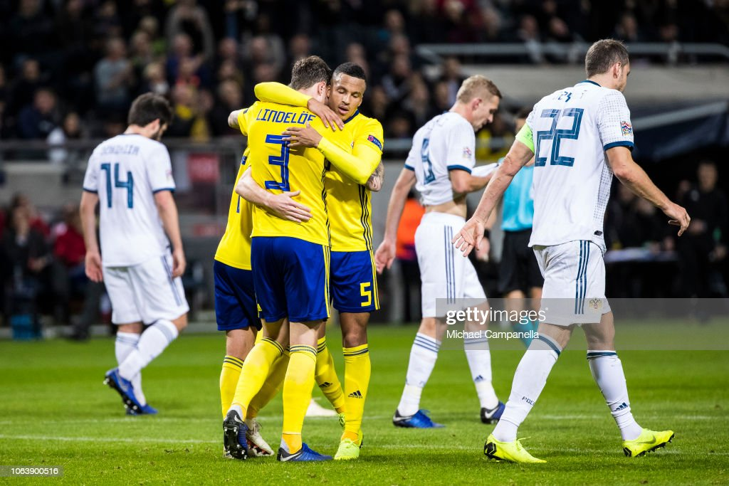 Sweden v Russia - UEFA Nations League B : News Photo