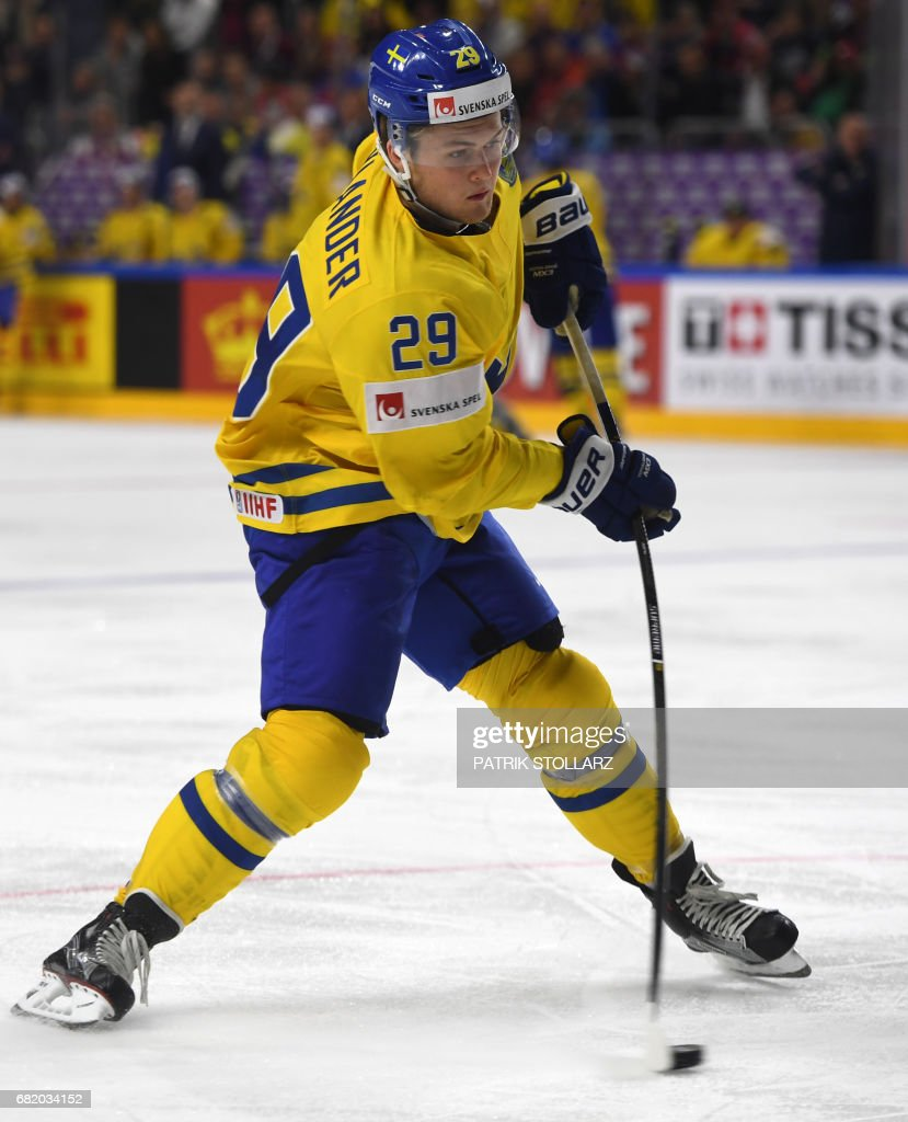 IHOCKEY-WORLD-SWE-LAT : News Photo