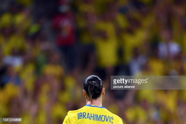 Sweden's Zlatan Ibrahimovic seen during the UEFA Euro 2016 Group E soccer match between Sweden vs at the Stade de Nice in Nice France 22 June 2016...