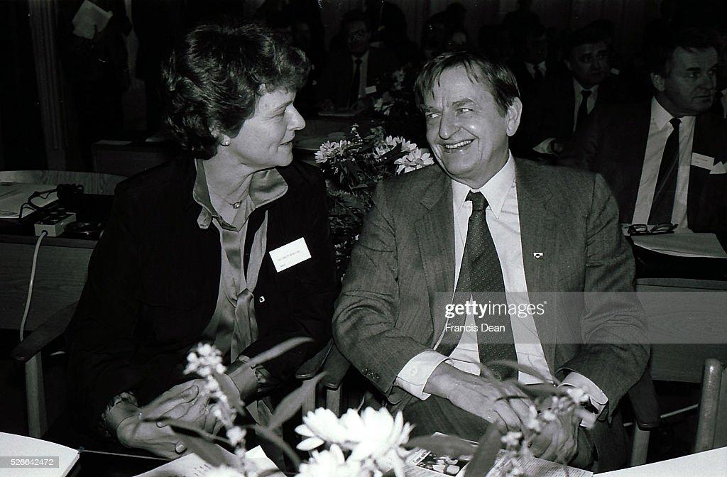 COPENHAGEN/DANMARK /DENMARK. ( File Photos of late swedish primeminister Olof Palme) Swedids late p : News Photo