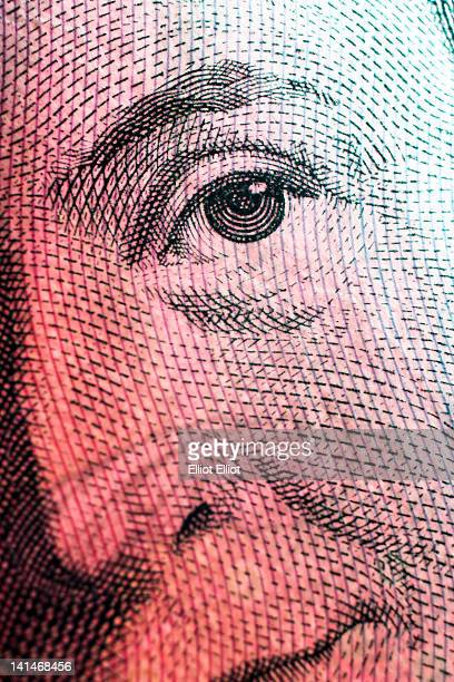 swedish 100 krono banknote - money texture stock photos and pictures