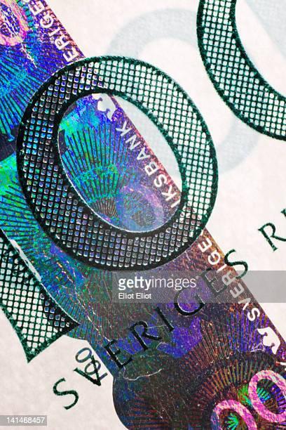 Swedish 100 krono banknote