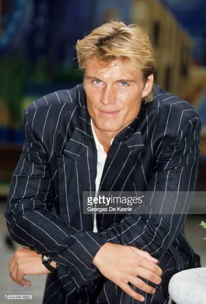 Swedish actor Dolph Lundgren, circa 1990.