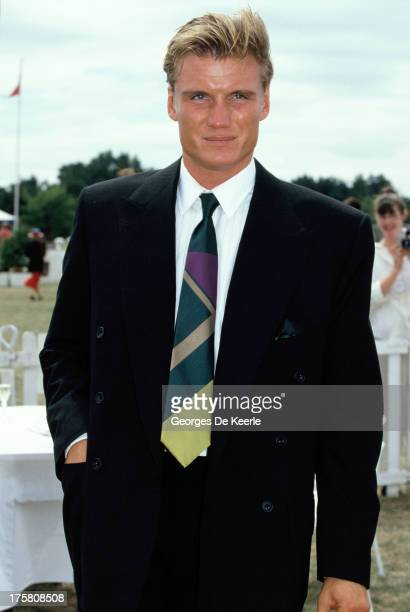 Swedish actor Dolph Lundgren in 1990 ca in London England