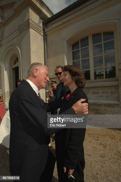 LR Swedish actor Max von Sydow and English born actress Charlotte Rampling