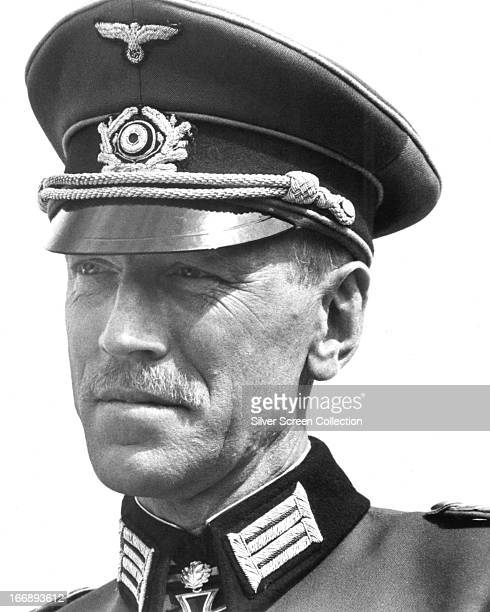 Swedish actor Max von Sydow as Major Karl von Steiner in 'Escape To Victory' directed by John Huston 1981