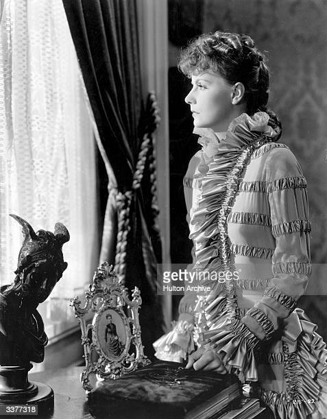Swedish actress and movie legend Greta Garbo plays the title role in the film 'Anna Karenina' adapted from Leo Tolstoy's tragic novel and directed by...