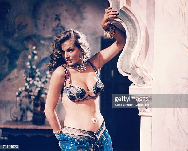 Swedish actress Anita Ekberg as Salma in 'Zarak' directed by Terence Young 1956