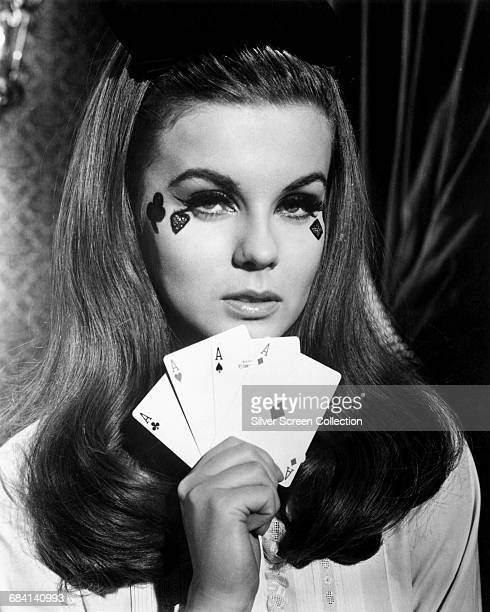Swedish actress AnnMargret holds all the aces in the film 'The Swinger' 1966
