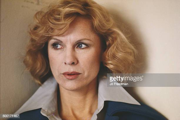 Swedish actress Bibi Andersson circa 1980
