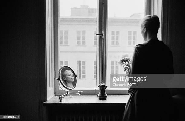Swedish Actress Bibi Andersson In Paris France Circa 1960