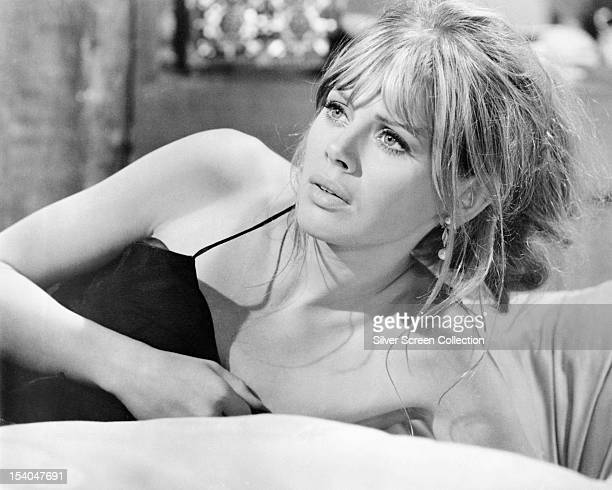 Swedish actress Britt Ekland as Gina in 'The Double Man', directed by Franklin Schaffner, 1967.